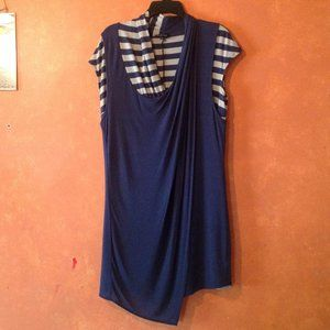 *2for$5 Ronen Chen Stripe Dress Sz. 4 (fits 10-12)